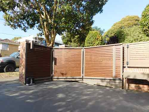 Turning Sliding Gate - The Sidturn | Melbourne | Sidcon Fabrications