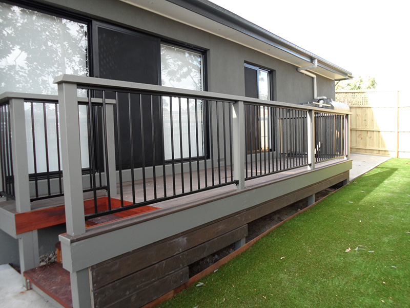 Steel Balustrades Melbourne | Aluminium | Sidcon Fabrications