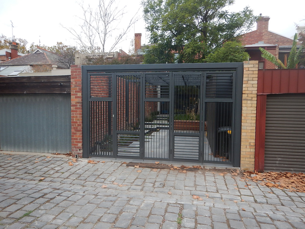 Bi Fold Gates Melbourne Sidcon Fabrications
