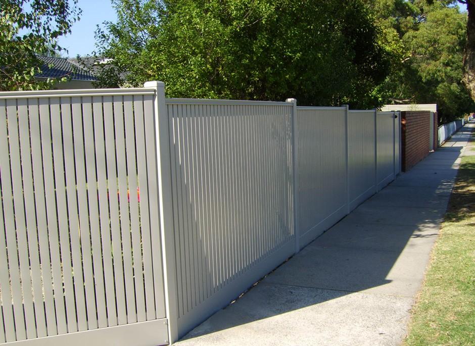 metal fencing melbourne steel wrought iron aluminium sidcon