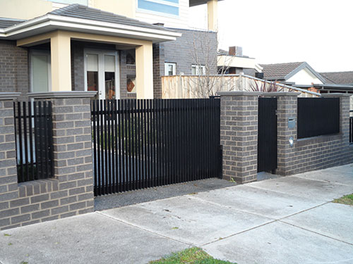 Floor Track Sliding Gates | Melbourne | Sidcon Fabrications