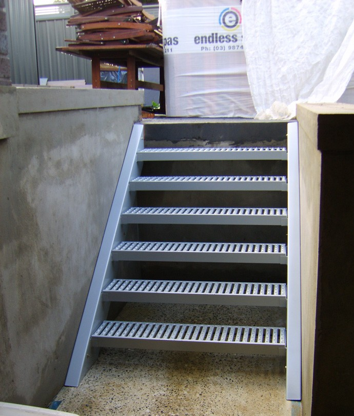 Geometric Stairs Geometric Staircase Melbourne: Steel Staircases Melbourne
