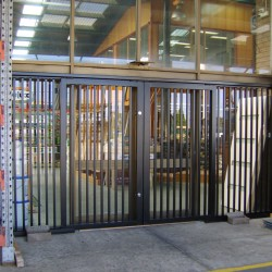Wrought Iron Steel Doors Melbourne | Security Doors | Sidcon Fabrications