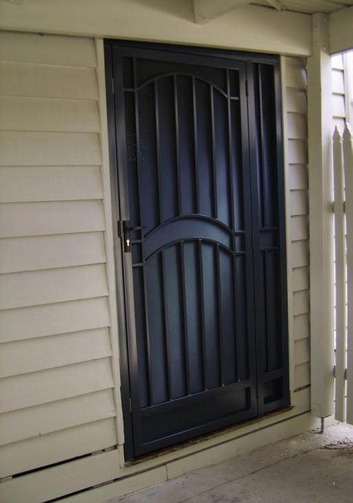 Wrought Iron Steel Doors Melbourne | Security Doors | Sidcon Fabrications
