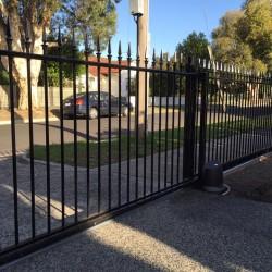 Slimline Automated Sliding Gate | Cheltenham, Melbourne | Sidcon Fabrications