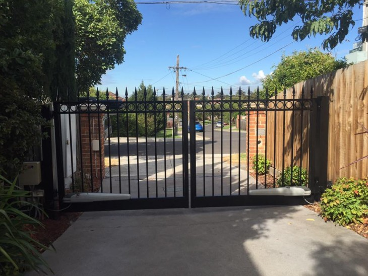 Fixing an Automated Swinging Driveway Gate - After | Melbourne | Coburg | Sidcon Fabrications