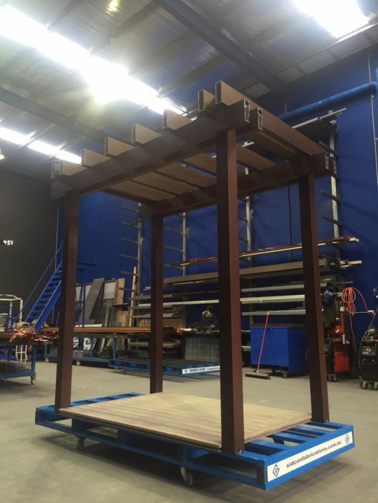 Timber Look Aluminium Exhibit | Part 1 | Melbourne | Sidcon Fabrications
