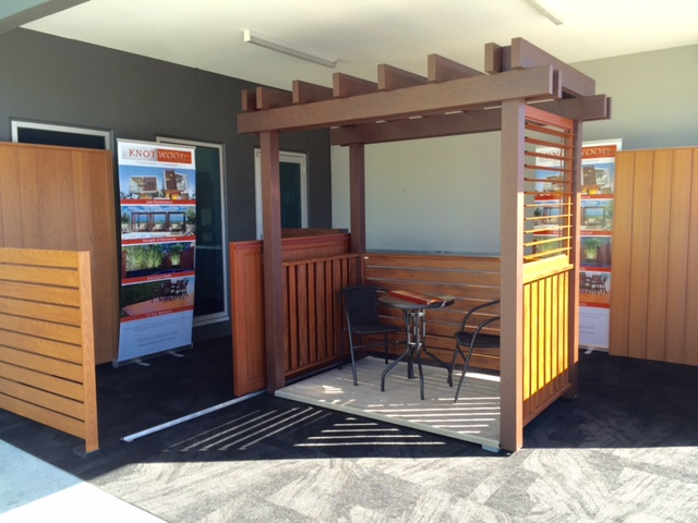 Timber Look Aluminium Display   Melbourne   Sidcon Fabrications