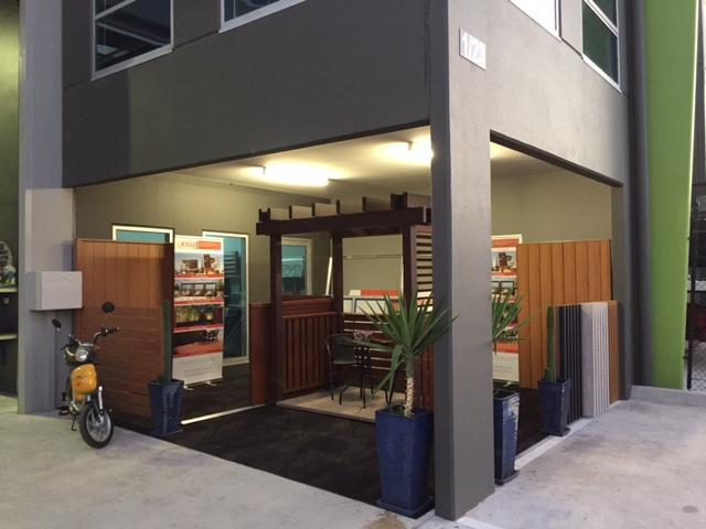 Timber Look Aluminium Display | Melbourne | Sidcon Fabrications