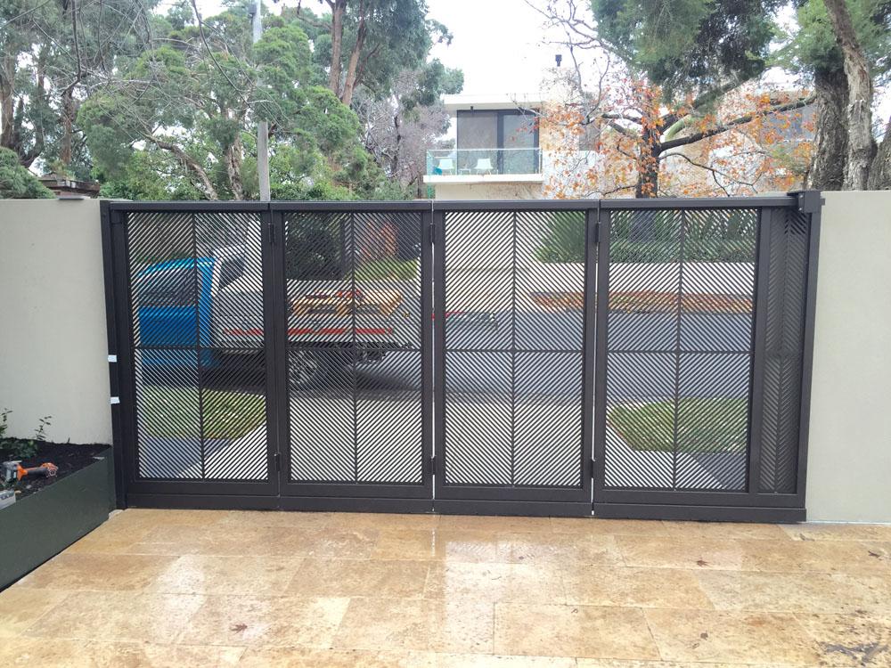 Home Design Gate Ideas: Turning Gate, Pergola And Pool Fence