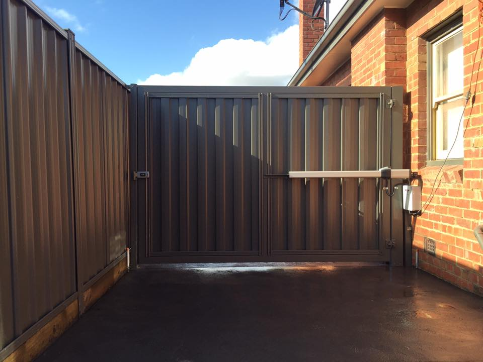 Automated Swinging Gate – Pascoe Vale