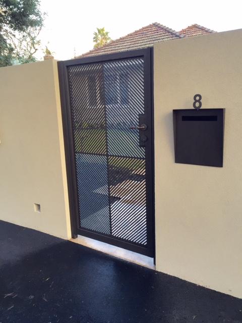 Pedestrian Access Gate Brighton | Sidturn Installation | Melbourne