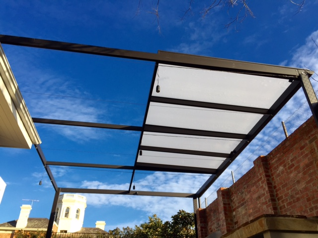 Steel Pergola Brighton | Melbourne | Sidcon Fabrications