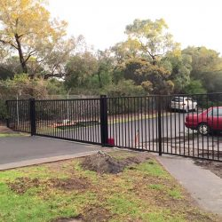 Automated Sliding Gate Cranbourne | Ambulance Victoria | Sidcon Fabrications