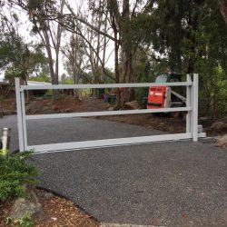 Floor Track Sliding Gate Templestowe | Melbourne | Sidcon Fabrications