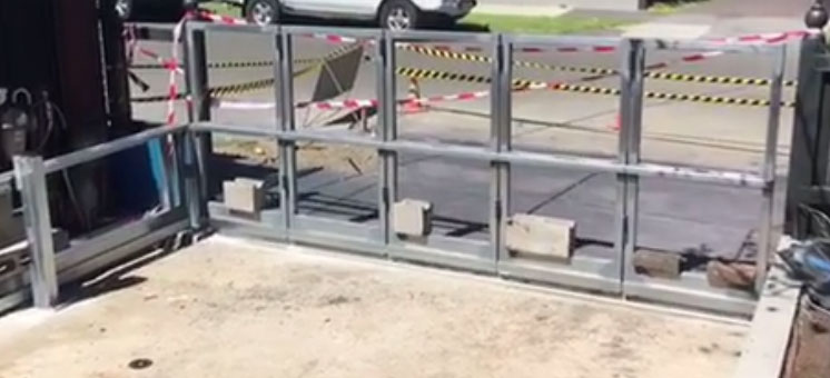 Malvern Sidturn | Pre Installation Test | Turning Gate | Melbourne | Sidcon Fabrications