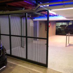 2- Perforated mesh