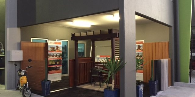 Timber Look Aluminium Display | Melbourne | Sidcon Fabrications
