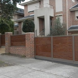 Turning Sliding Gate System   Melbourne   The Sidturn   Sidcon Fabrications
