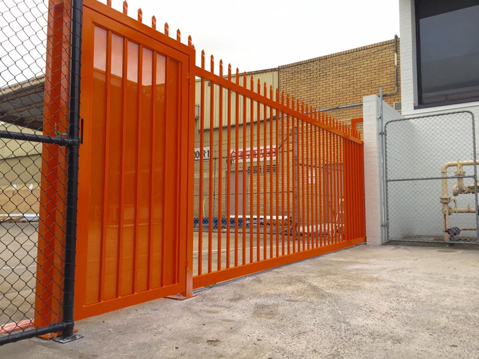 Automated Sliding Gate   Campbellfield   Melbourne   Sidcon Fabrications
