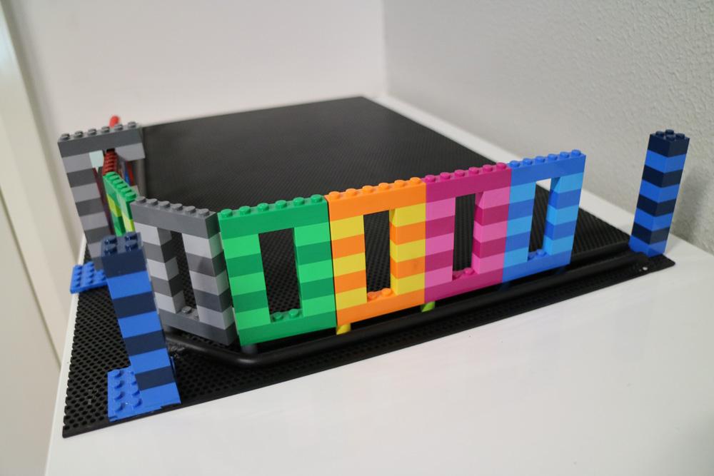 Lego Turning Gate Prototype   Melbourne   Sidcon Fabrications